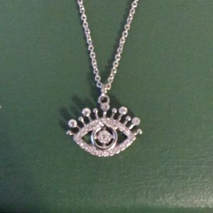 Betsey Johnson Eye necklace